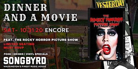 Dinner and a Movie Feat. The Rocky Horror Picture Show Encore tickets