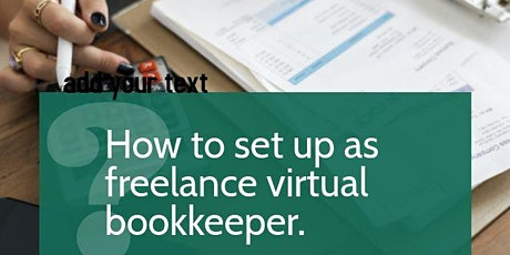 How to set up as a virtual bookkeeper tickets