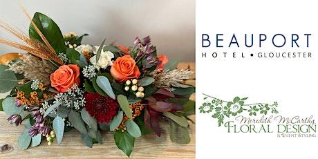 Thanksgiving Floral Centerpiece Class tickets