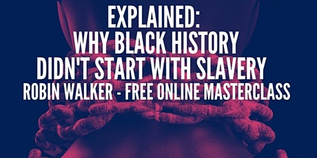 Explained: Why Black History didn't start with Slavery