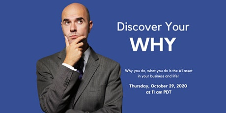 Discover Your WHY tickets