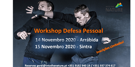 Workshop Defesa Pessoal bilhetes