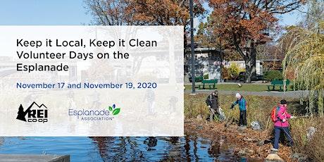 Keep it Local, Keep it Clean Volunteer Days on the Esplanade tickets