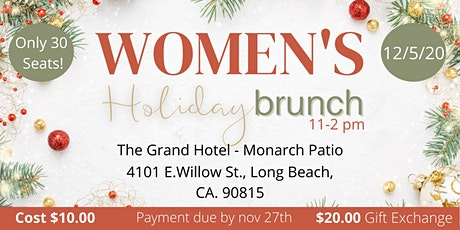 Womens Holiday Brunch tickets