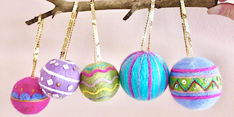 Multi-Coloured Baubles & Material Kit tickets