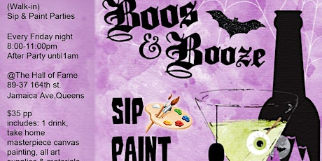 Sip & Paint Party tickets