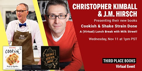 Third Place Books Presents Christopher Kimball and J.M. Hirsch tickets