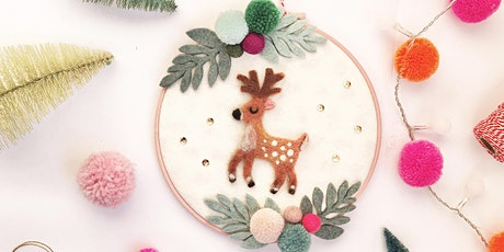 Reindeer Hoop Art & Material Kit tickets