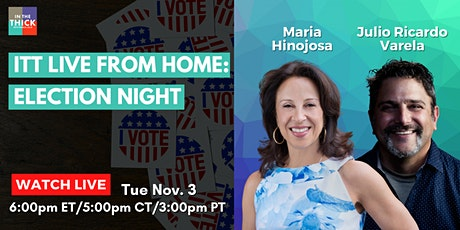 ITT LIVE from Home: Election Night tickets
