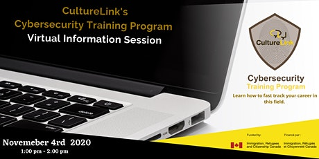 Virtual Information Session - Culturelink's Cybersecurity  Training Program tickets