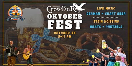 Oktoberfest Party at Wakefield Crowbar (FREE with RSVP) tickets