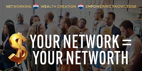 Your Network =  Your Networth. New Plymouth tickets