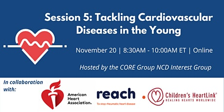 Tackling Cardiovascular Diseases in the Young tickets
