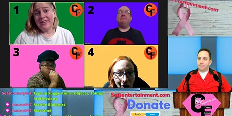 Comedy Friendzy:  Online Interactive Funny Game Show.  Season3 tickets