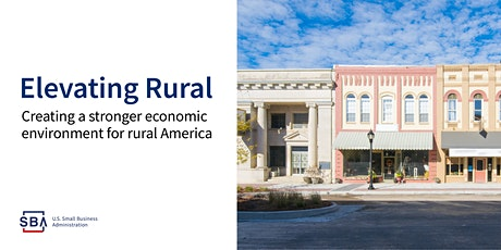 Rural Entrepreneurs: Access Funding to Grow Your Small Business tickets