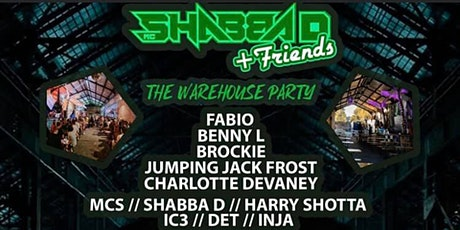 Shabba D & Friends tickets