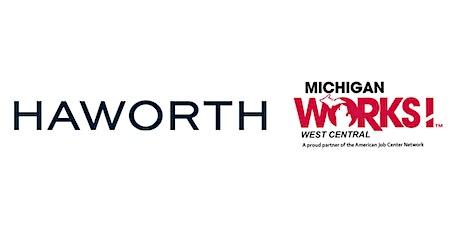 Virtual Job Fair for Haworth tickets