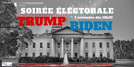 Soirée électorale américaine 2020 billets
