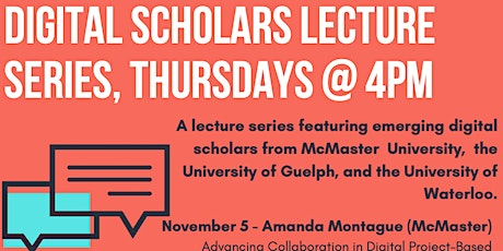 Digital Scholars Lecture Series tickets