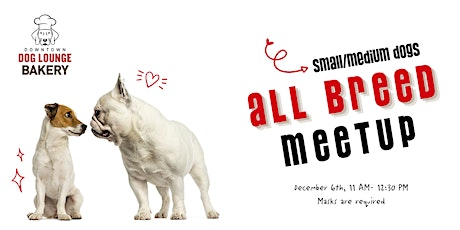 Fremont Neighborhood All Breed Meetup - Small & Medium Size Dogs tickets