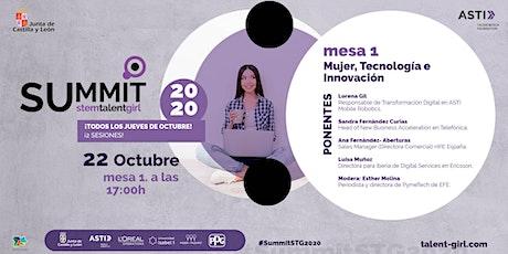 SUMMIT STEM Talent Girl - Sesión 7: Mujer, Tecnología e Innovación entradas