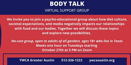 Body Talk - Tuesday Group tickets