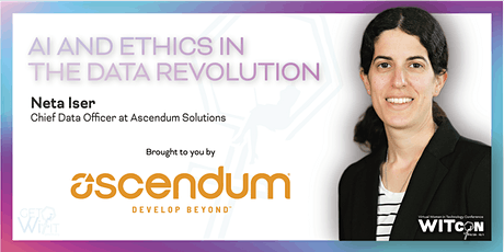 AI and Ethics in the Data Revolution tickets