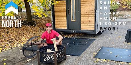 Embrace North Sauna Happy Hour! tickets