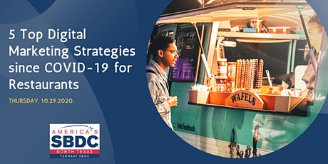 5 Top Digital Marketing Strategies since COVID-19 for Restaurants tickets