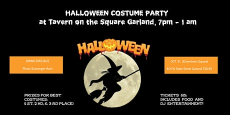 Tavern on the Square Garland HALLOWEEN PARTY tickets