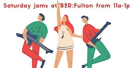 Saturday Jams at Bach to Rock: Fulton tickets