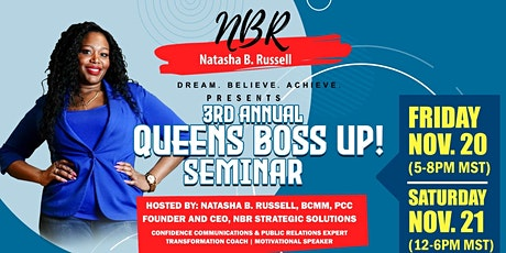 NBR 3rd Annual Queens Boss Up! 2-day In-Person Event (masks required) tickets
