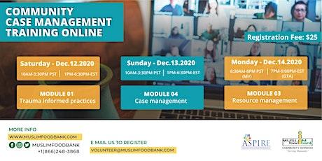Community Case Management Training - ONLINE tickets