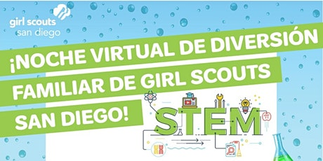 Noche de diversión familiar virtual de Girl Scouts: ¡taller de nube STEM! tickets