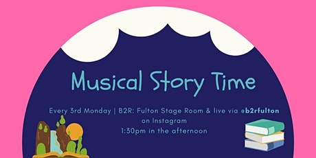 Musical Story Time at Bach to Rock: Fulton tickets