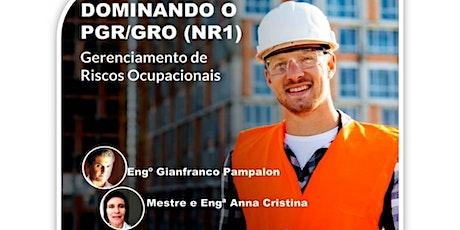 Dominando o PGR/GRO (NR 1) - Gerenciamento de Riscos Ocupacionais ingressos