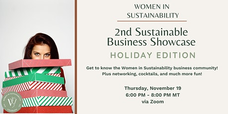 Women in Sustainability - 2nd Sustainable Business (Virtual) Showcase tickets