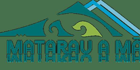 Te Matarau a Māui  update and wānanga tickets