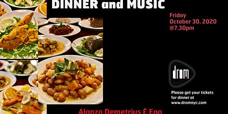 Special Dinner Package/ LS: Alonzo Demetrius & The Ego tickets