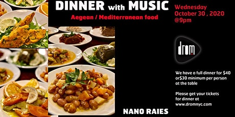 Special Dinner Package/ LS: Nano Raies tickets