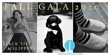 Fall Gala 2020 Online: 'Black Tie & Slippers' tickets