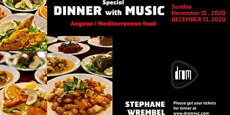 Special Dinner Package/ LS: The Stephane Wrembel Band tickets