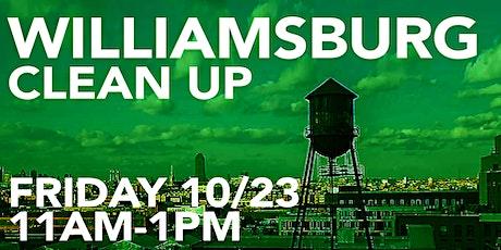 Williamsburg Clean-Up tickets