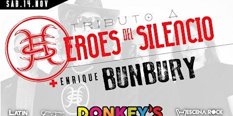 Tributo a Heroes del Silencio y Bunbury (Espiritu del Vino) - Atlanta, GA tickets