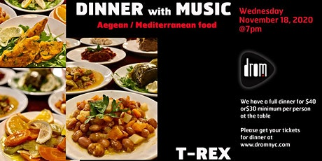 Special Dinner Package/ LS: T-Rex tickets