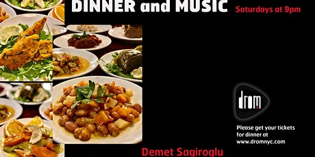 Special Dinner Package/ LS: Demet Sağıroğlu tickets