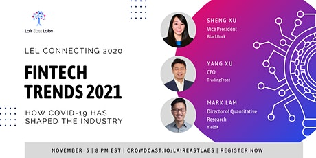FinTech Trends 2021: How COVID-19 Has Shaped the Industry tickets