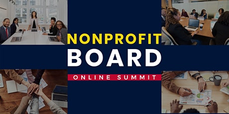 Nonprofit Board Online Summit tickets