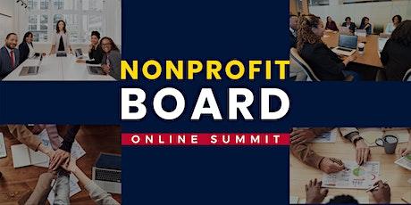 Nonprofit Board Online Summit tickets