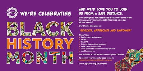 Optivo 2020 Final Black History Month Event tickets